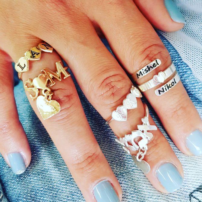 טבעת ספירלה אישית