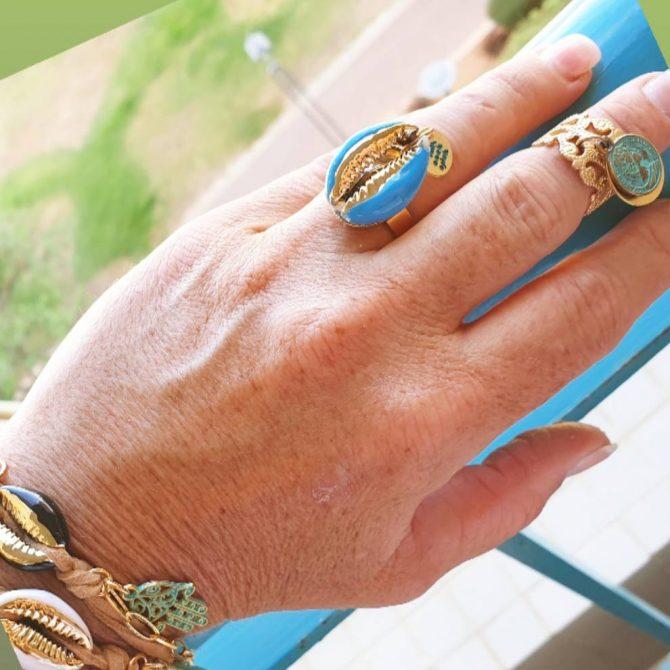 טבעת צדף
