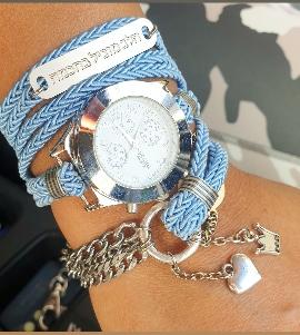 שעון חבלים מלופף
