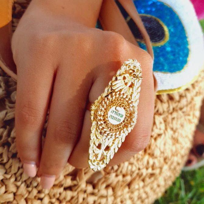 טבעת תחרה